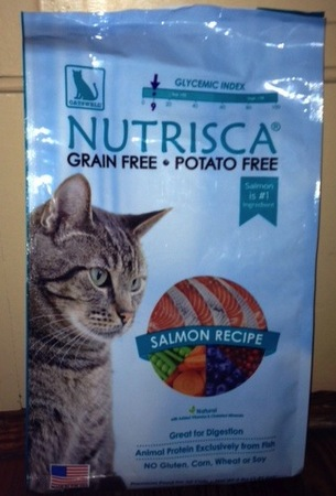 Nutrisca Salmon Recipe Dry Cat Food