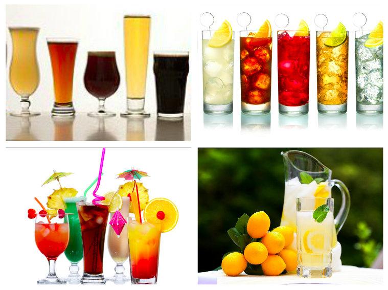 C.J.'s birthday party: drinks.