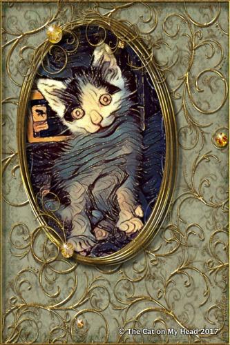 Lisbeth as Caturday Art.