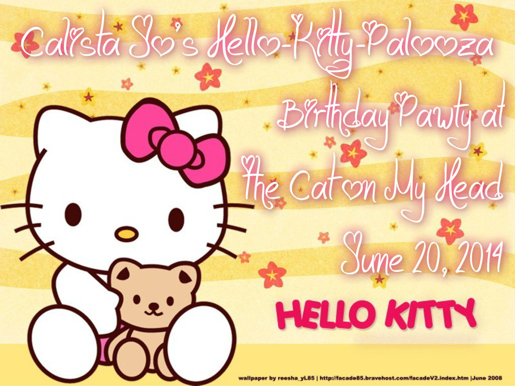 calista jo from the cat in my head has a hello kitty