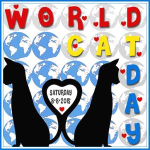 World Cat Day Badge 2015