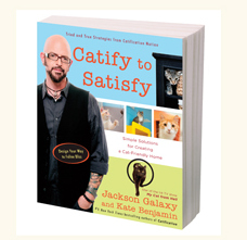 jackson Galaxy Catify to Satisfy book cover