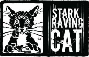 logo Stark raving cat