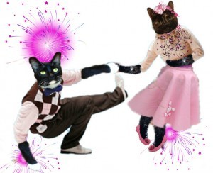 Astrid & Sampson at Sock Hop
