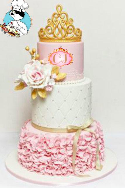 C.J.'s birthday cake created by Mau.