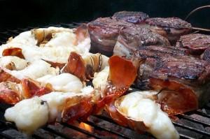lobster&steak