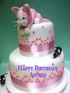 Astrid's Birthday cake