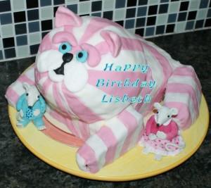 Lisbeth birthday cake