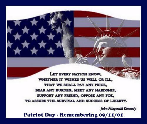 Patriot Day Sunday Selfies