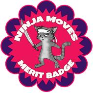 cat-scout-merit-badge-ninja-moves1