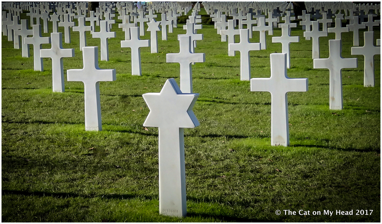 Remembering those killed at Normandy in World War II.