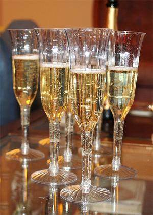 blogoversary champagne