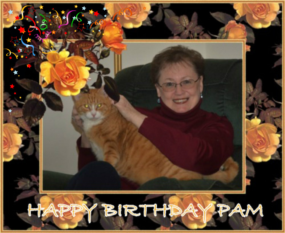 Pam's birthday
