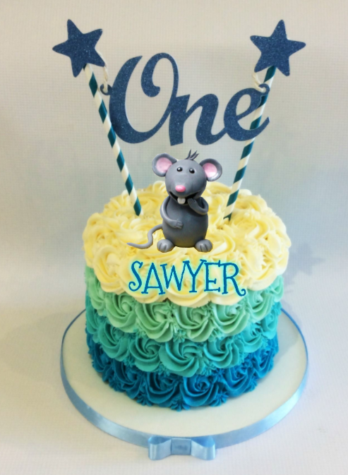 Sawyer - Gotcha Day Cake