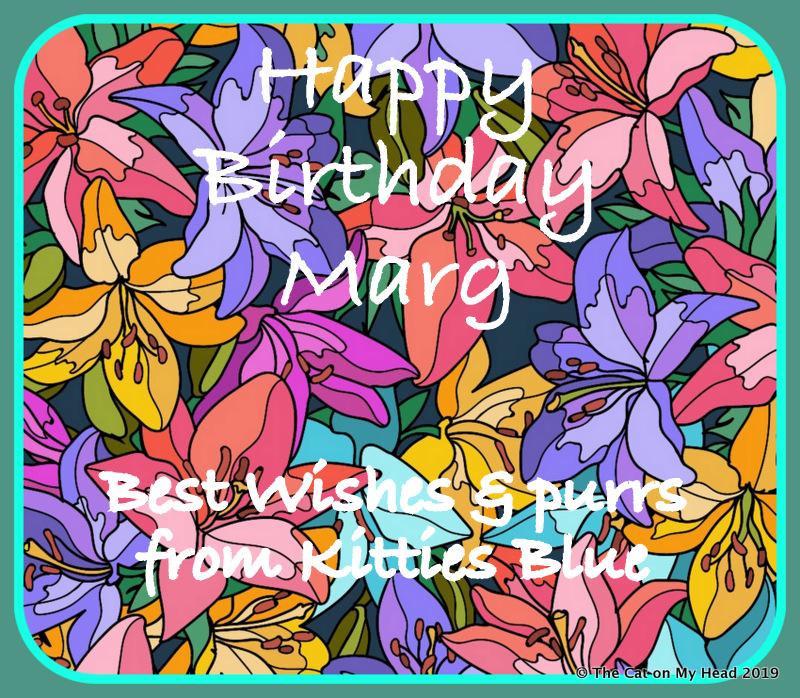 Marg birthday card