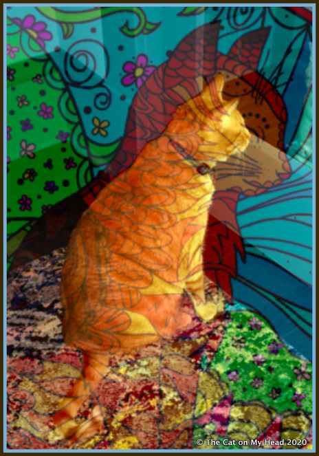 Caturday Art.